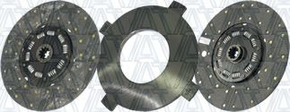 Two-Plate, Organic // 8-Spring, 3600 Plate Load // 1100 Torque IATCO 107035-82-IAT 14 x 1-3//4 Angle Spring Clutch